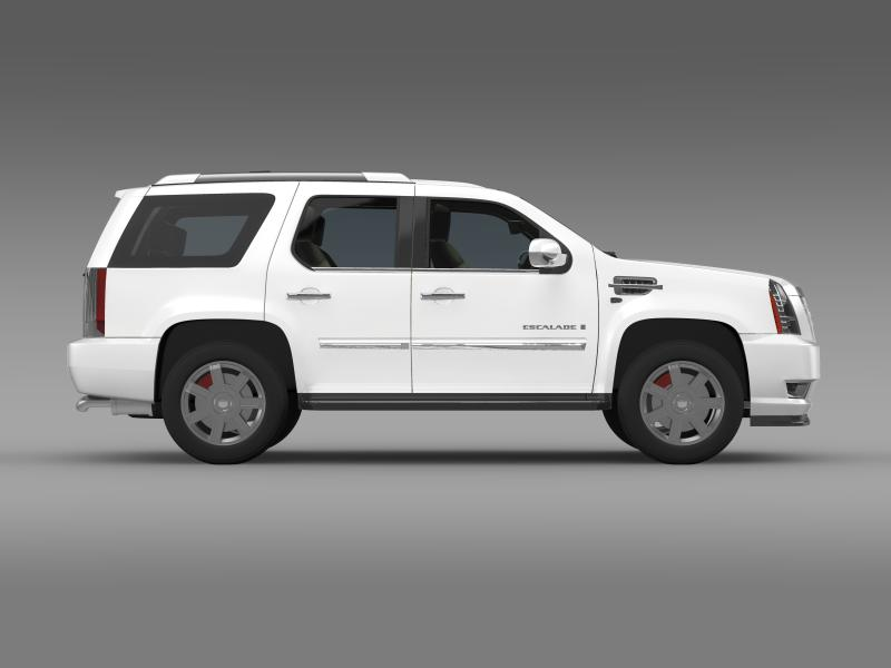 cadillac escalade european version 3d model 3ds max fbx c4d lwo ma mb hrc xsi obj 150136