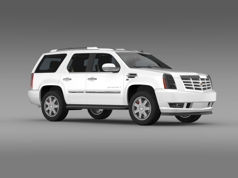 cadillac escalade european version 3d model 3ds max fbx c4d lwo ma mb hrc xsi obj 150137