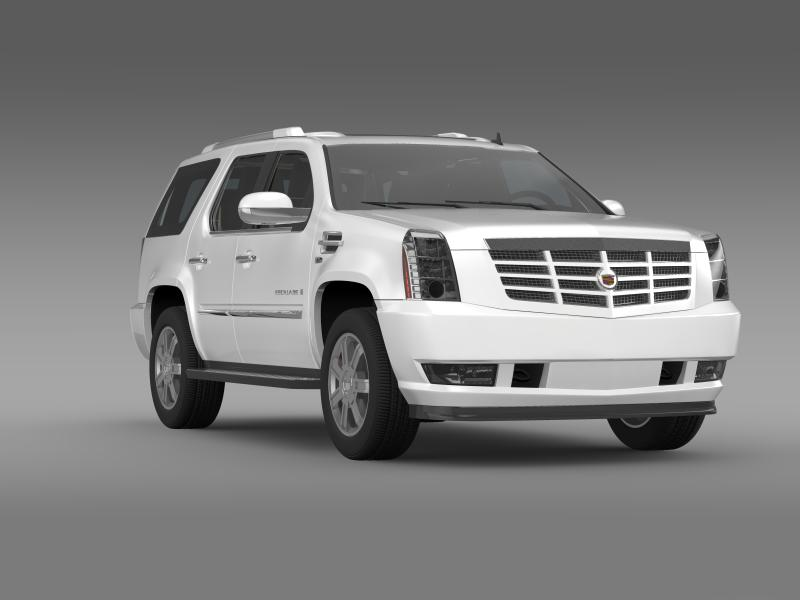 cadillac escalade european version 3d model 3ds max fbx c4d lwo ma mb hrc xsi obj 150138