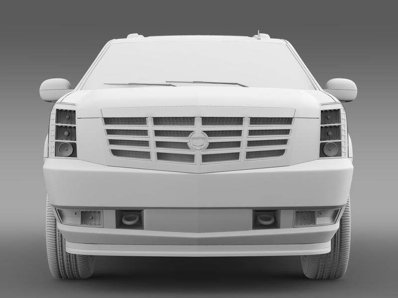 cadillac escalade european version 3d model 3ds max fbx c4d lwo ma mb hrc xsi obj 150139