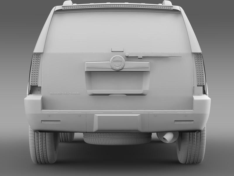 cadillac escalade european version 3d model 3ds max fbx c4d lwo ma mb hrc xsi obj 150140