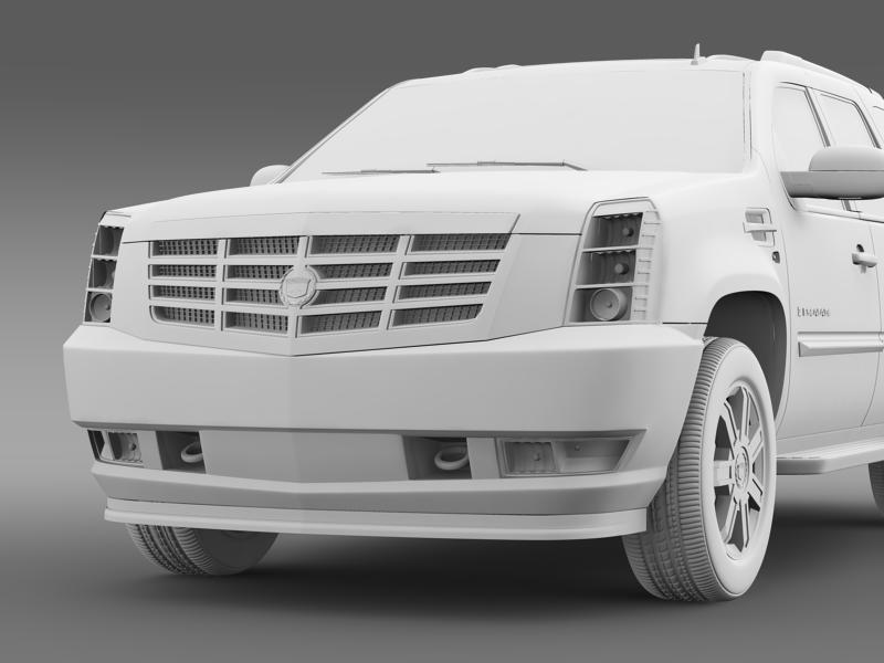 cadillac escalade european version 3d model 3ds max fbx c4d lwo ma mb hrc xsi obj 150141