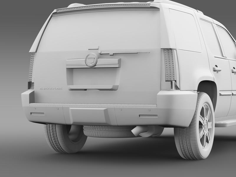 cadillac escalade european version 3d model 3ds max fbx c4d lwo ma mb hrc xsi obj 150142