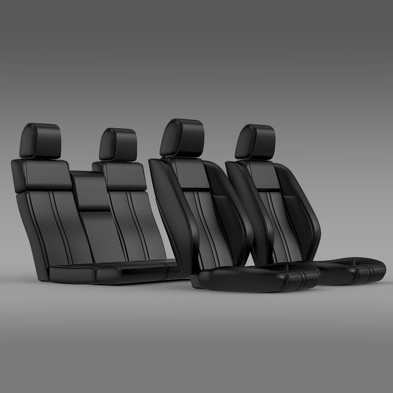 car seats of ford mustang 3d model 3ds max fbx c4d lwo ma mb hrc xsi obj 141394