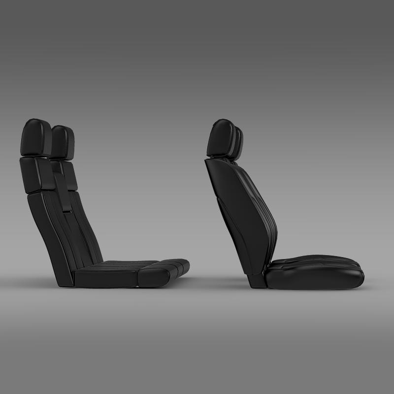 car seats of ford mustang 3d model 3ds max fbx c4d lwo ma mb hrc xsi obj 141395