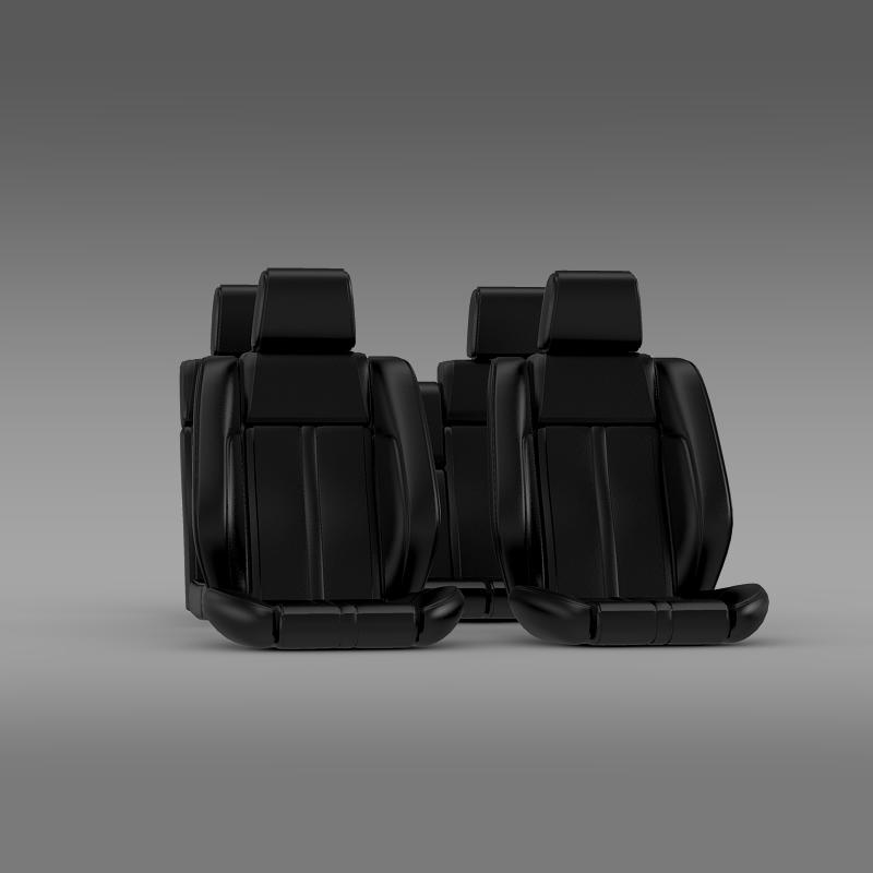 car seats of ford mustang 3d model 3ds max fbx c4d lwo ma mb hrc xsi obj 141396
