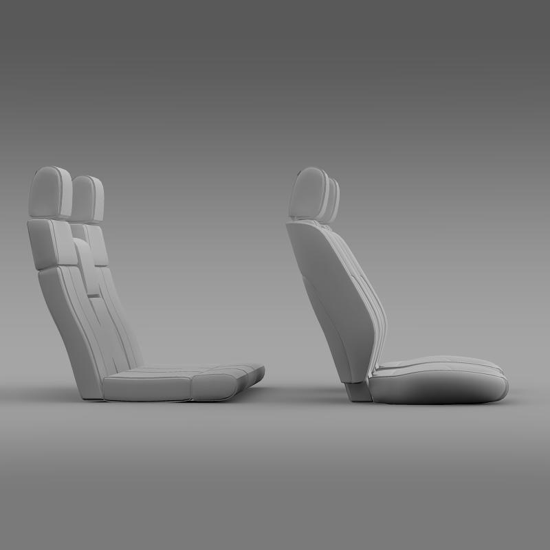 car seats of ford mustang 3d model 3ds max fbx c4d lwo ma mb hrc xsi obj 141398