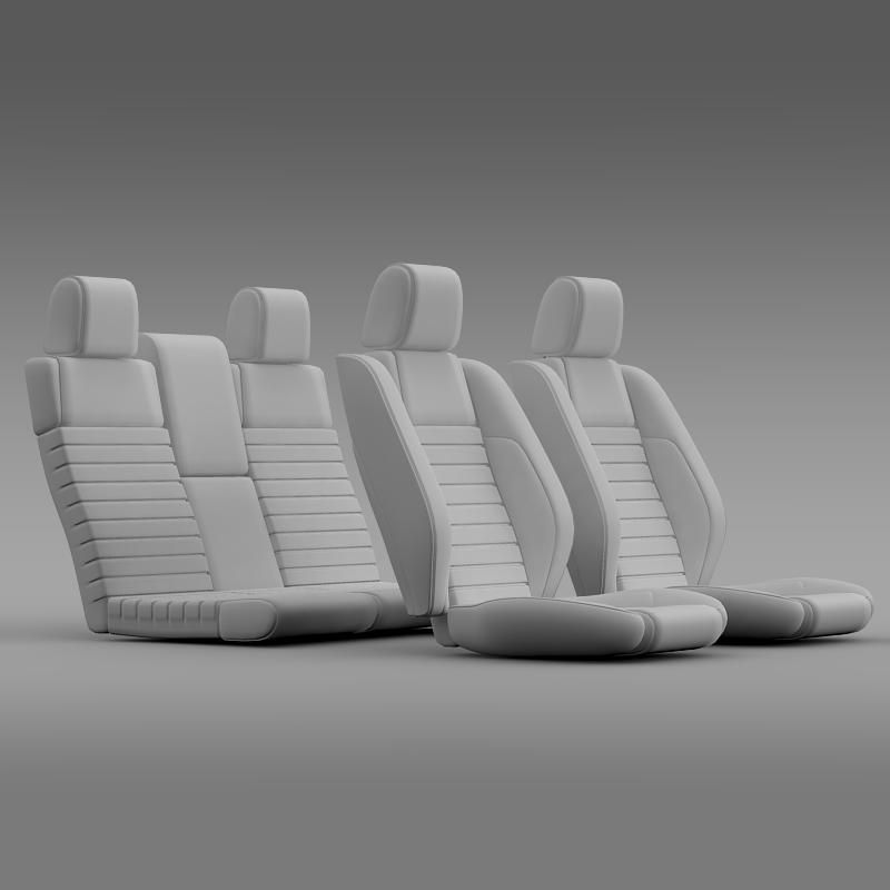 car seats of ford mustang shelby 3d model 3ds max fbx c4d lwo ma mb hrc xsi obj 141403