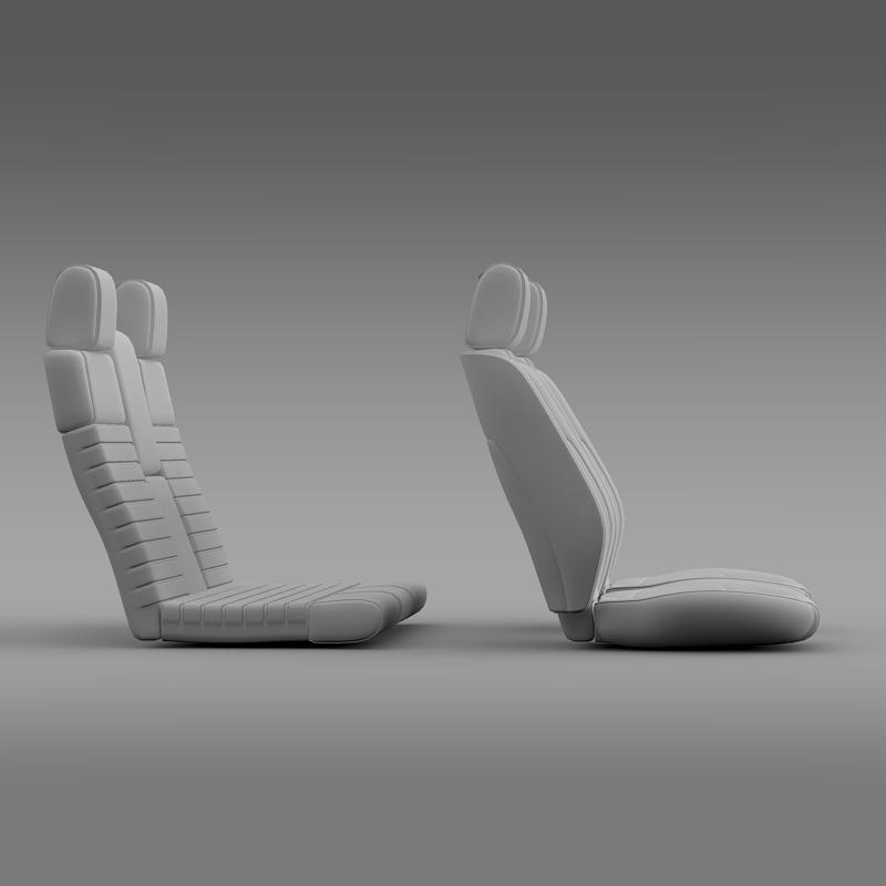 car seats of ford mustang shelby 3d model 3ds max fbx c4d lwo ma mb hrc xsi obj 141405