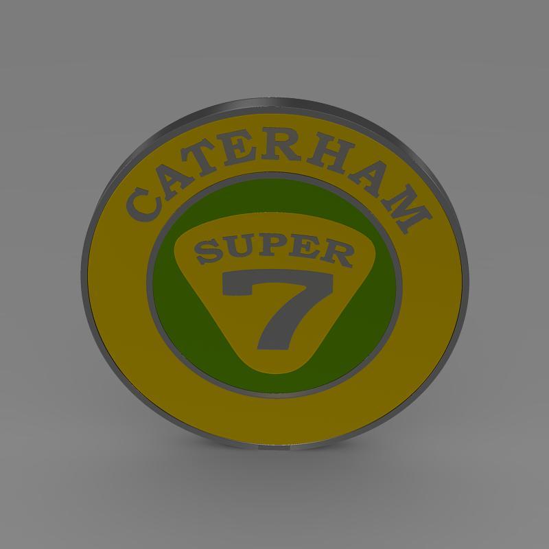 caterham logo 3d model 3ds max fbx c4d lwo ma mb hrc xsi obj 151305