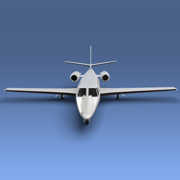 cessna citation xls+ business jet 3d model 3ds fbx blend lwo obj 153306