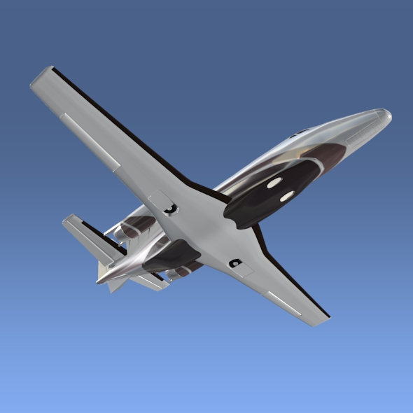 cessna citation xls+ business jet 3d model 3ds fbx blend lwo obj 153308