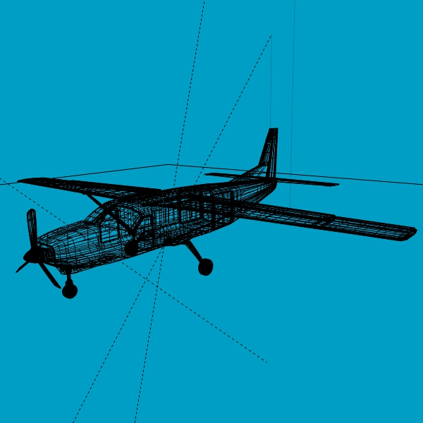cessna grand caravan 3d model 3ds fbx blend lwo obj 146843