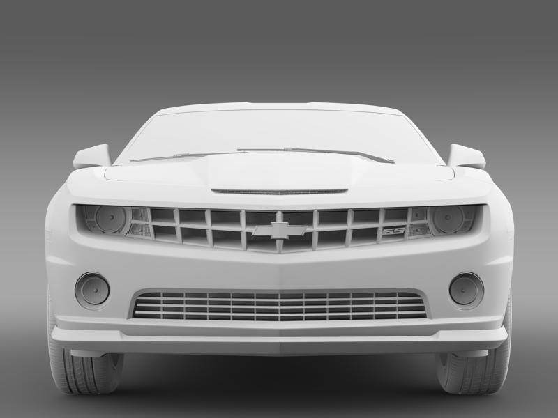 chevrolet camaro 1le 2013 3d model 3ds max fbx c4d lwo ma mb hrc xsi obj 148956