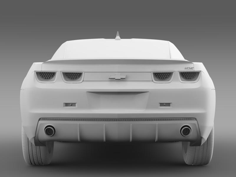 chevrolet camaro 1le 2013 3d model 3ds max fbx c4d lwo ma mb hrc xsi obj 148957