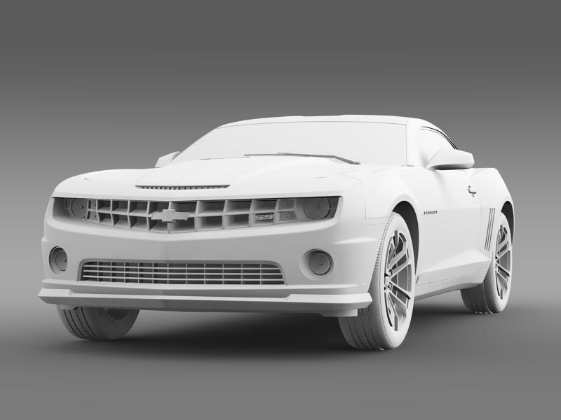 chevrolet camaro 1le 2013 3d model 3ds max fbx c4d lwo ma mb hrc xsi obj 148958