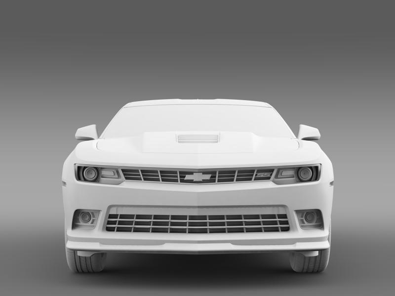 chevrolet camaro 1le 2014 3d model 3ds max fbx c4d lwo ma mb hrc xsi obj 160890