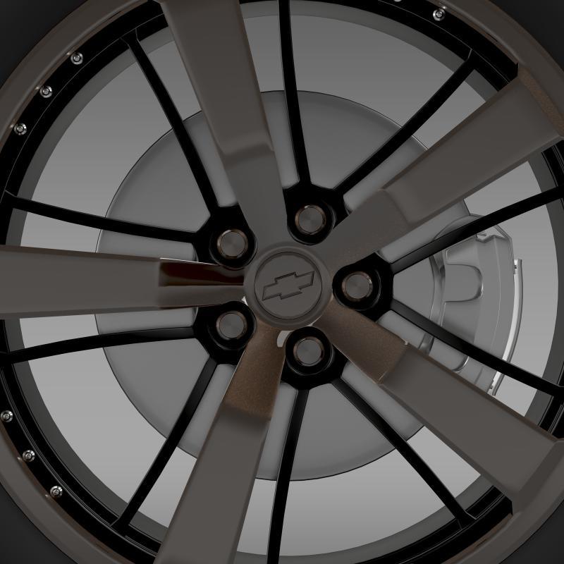 chevrolet camaro 2008 blackconcept 3d líkan 3ds hámark fbx c4d lwo ma mb hrc xsi obj 140552