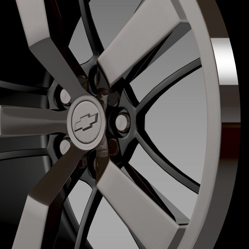 chevrolet camaro 2008 blackconcept rim 3d model 3ds max fbx c4d lwo ma mb hrc xsi obj 141430