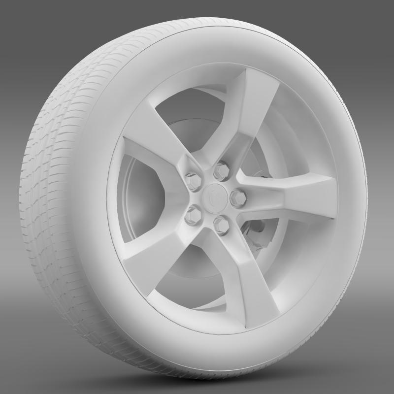 chevrolet camaro 2010 transformer wheel 3d model max fbx c4d ma mb hrc xsi obj 140566