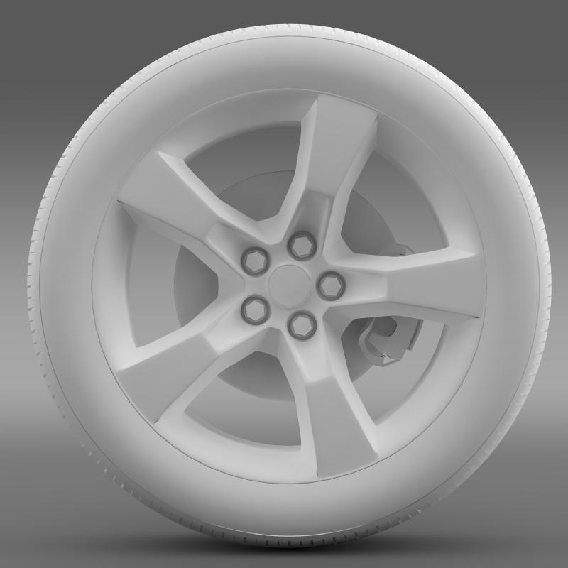 chevrolet camaro 2010 transformer wheel 3d model max fbx c4d ma mb hrc xsi obj 140568