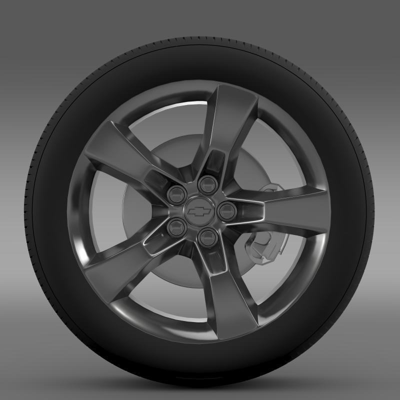 chevrolet camaro 2010 təkər 3d modeli 3ds max fbx c4d lwo ma mb hrc xsi obj 140575
