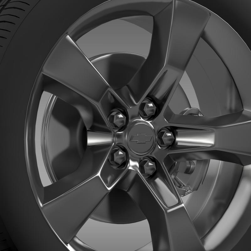chevrolet camaro 2010 wheel 3d model 3ds max fbx c4d lwo ma mb hrc xsi obj 140576