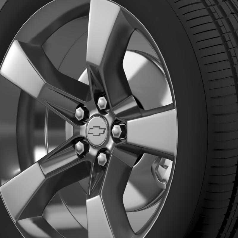 chevrolet camaro 2010 wheel 3d model 3ds max fbx c4d lwo ma mb hrc xsi obj 140577