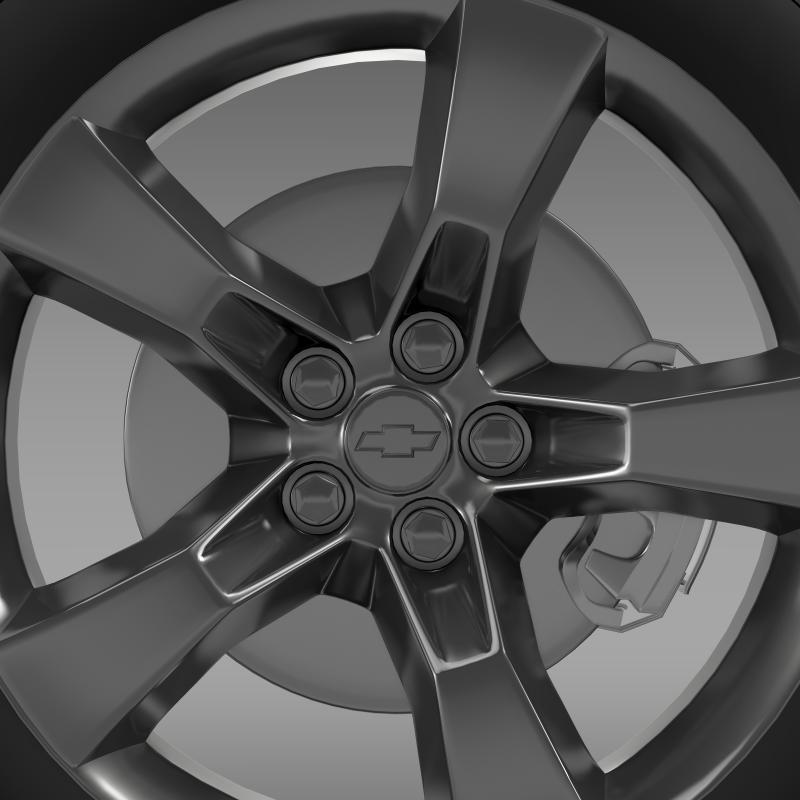 chevrolet camaro 2010 wheel 3d model 3ds max fbx c4d lwo ma mb hrc xsi obj 140578