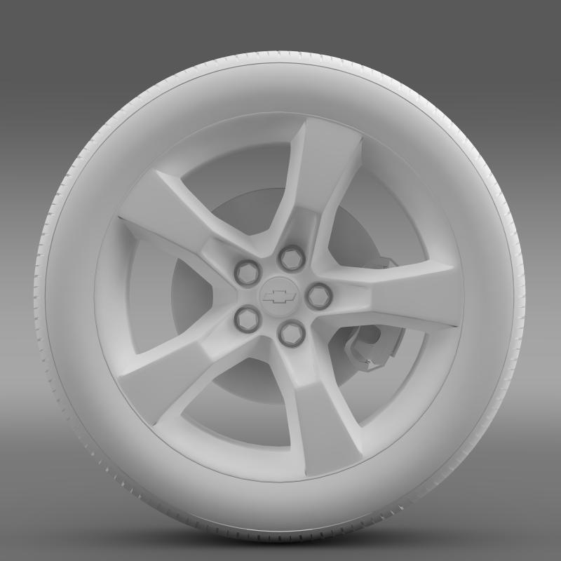chevrolet camaro 2010 təkər 3d modeli 3ds max fbx c4d lwo ma mb hrc xsi obj 140581