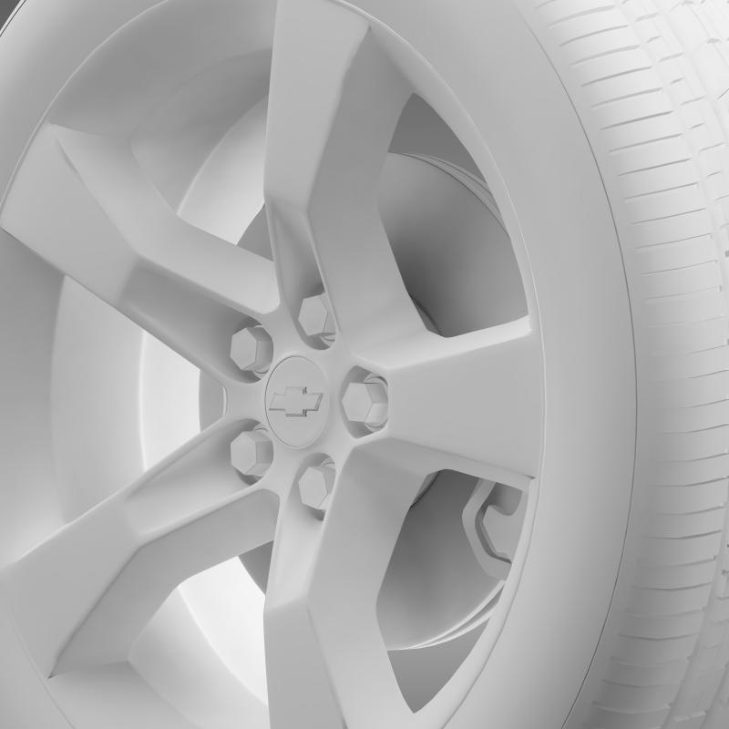 chevrolet camaro 2010 wheel 3d model 3ds max fbx c4d lwo ma mb hrc xsi obj 140583