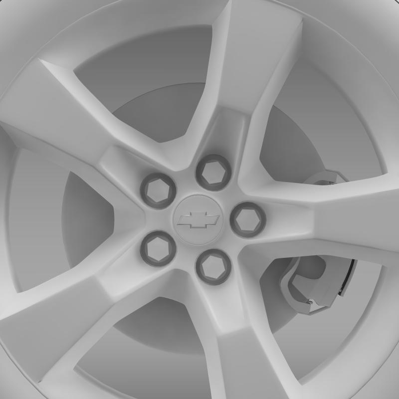 chevrolet camaro 2010 təkər 3d modeli 3ds max fbx c4d lwo ma mb hrc xsi obj 140584