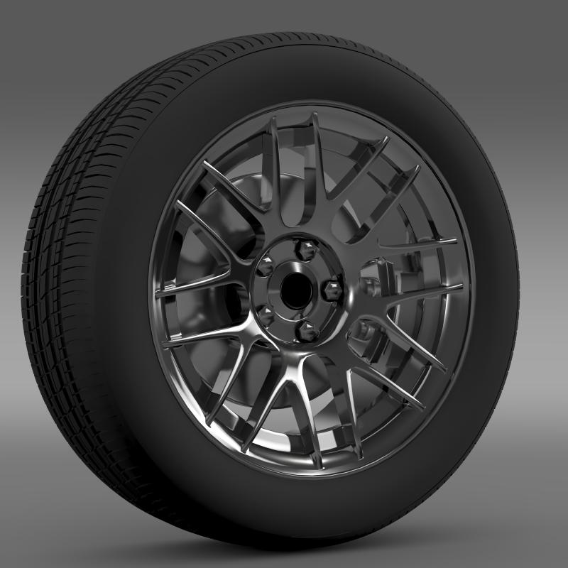 chevrolet camaro 2012 hennesey wheel 3d model 3ds max fbx c4d lwo ma mb hrc xsi obj 140586