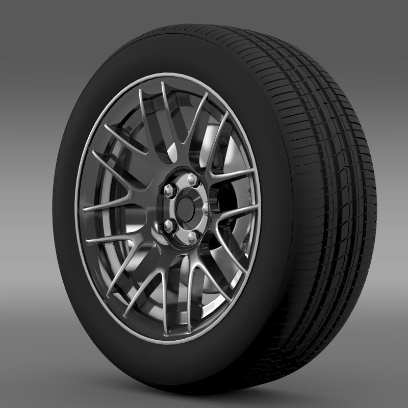 chevrolet camaro 2012 hennesey wheel 3d model 3ds max fbx c4d lwo ma mb hrc xsi obj 140587