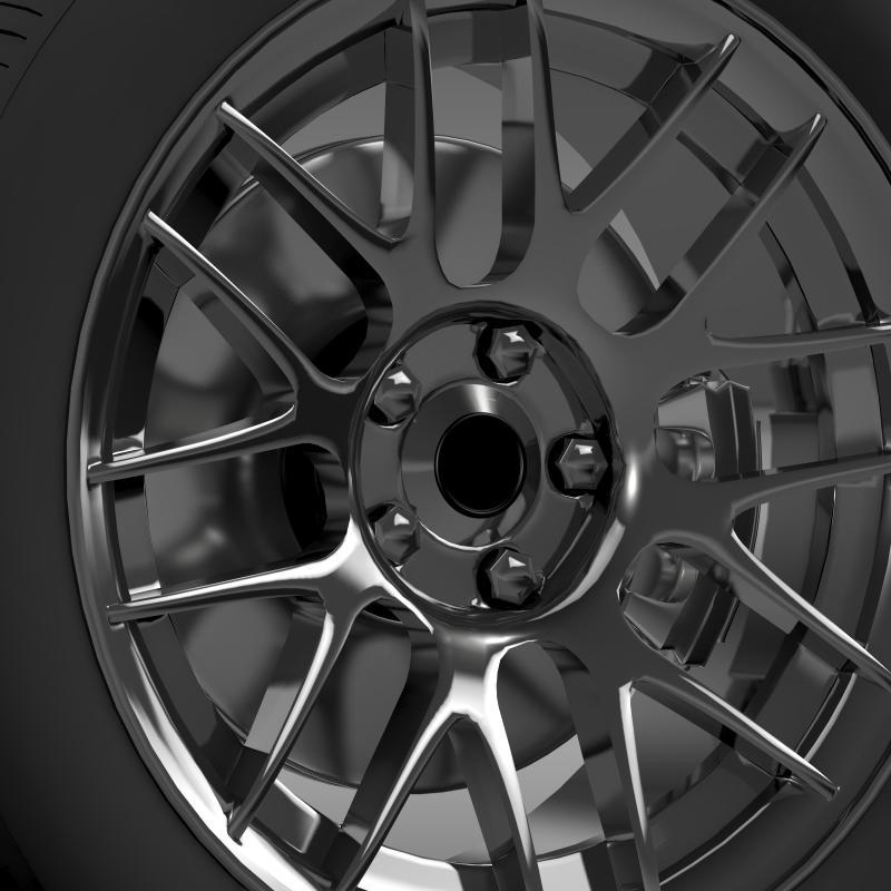 chevrolet camaro 2012 hennesey wheel 3d model 3ds max fbx c4d lwo ma mb hrc xsi obj 140589
