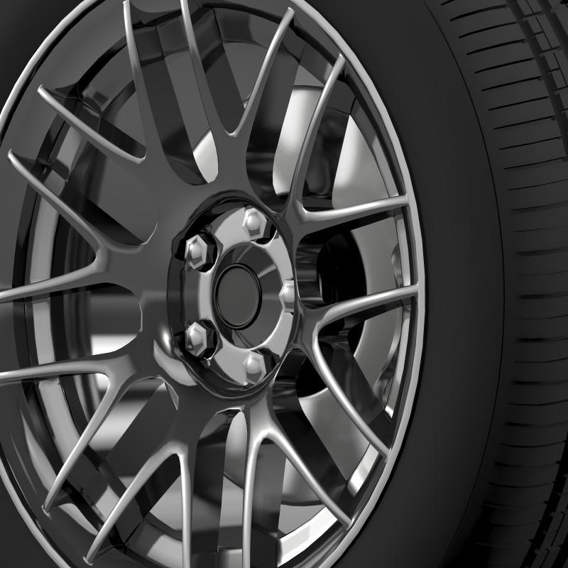 chevrolet camaro 2012 hennesey wheel 3d model 3ds max fbx c4d lwo ma mb hrc xsi obj 140590