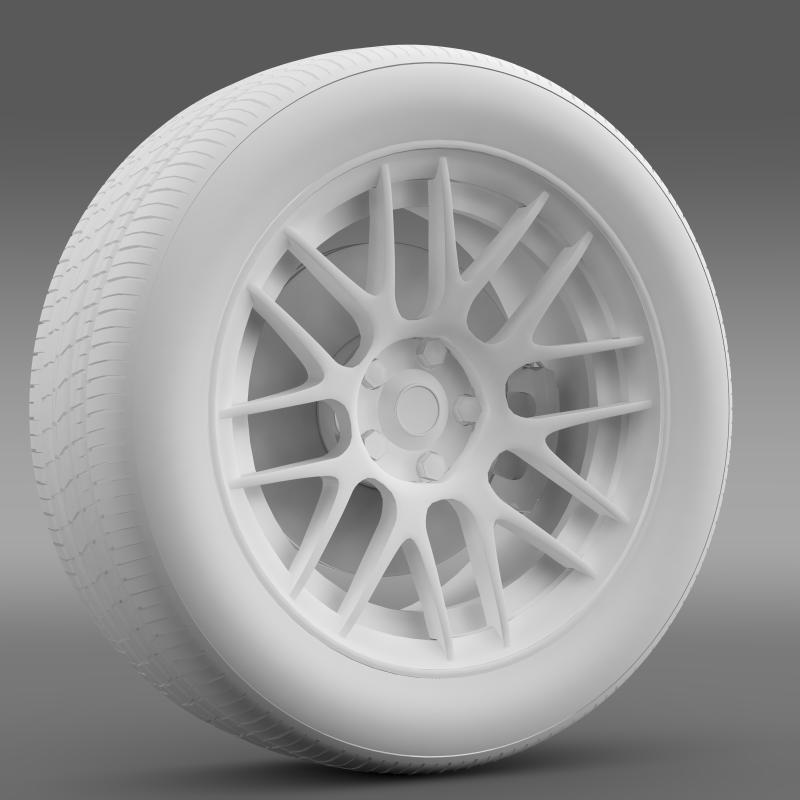 chevrolet camaro 2012 hennesey wheel 3d model 3ds max fbx c4d lwo ma mb hrc xsi obj 140592