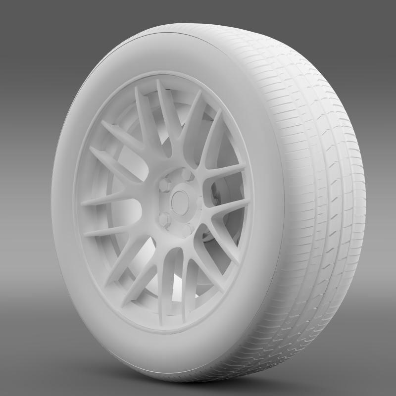 chevrolet camaro 2012 hennesey wheel 3d model 3ds max fbx c4d lwo ma mb hrc xsi obj 140593