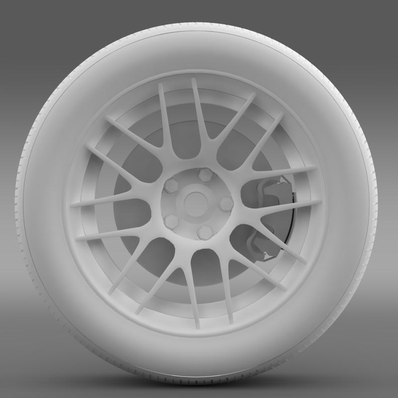 chevrolet camaro 2012 hennesey wheel 3d model 3ds max fbx c4d lwo ma mb hrc xsi obj 140594