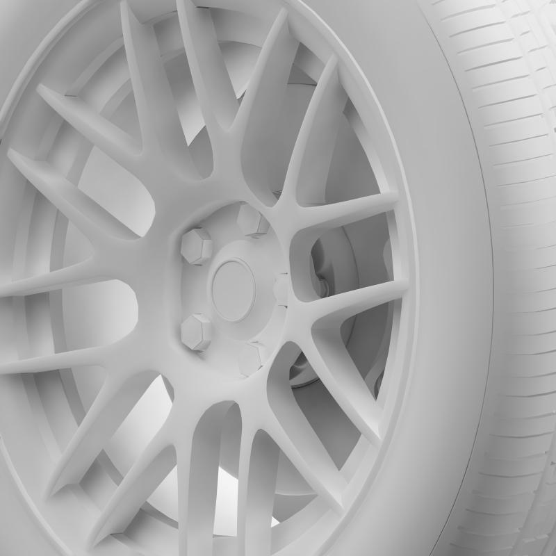 chevrolet camaro 2012 hennesey wheel 3d model 3ds max fbx c4d lwo ma mb hrc xsi obj 140595