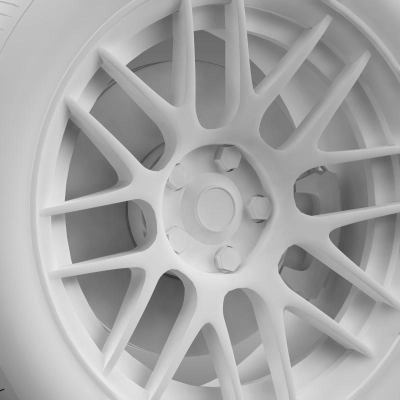 chevrolet camaro 2012 hennesey wheel 3d model 3ds max fbx c4d lwo ma mb hrc xsi obj 140596