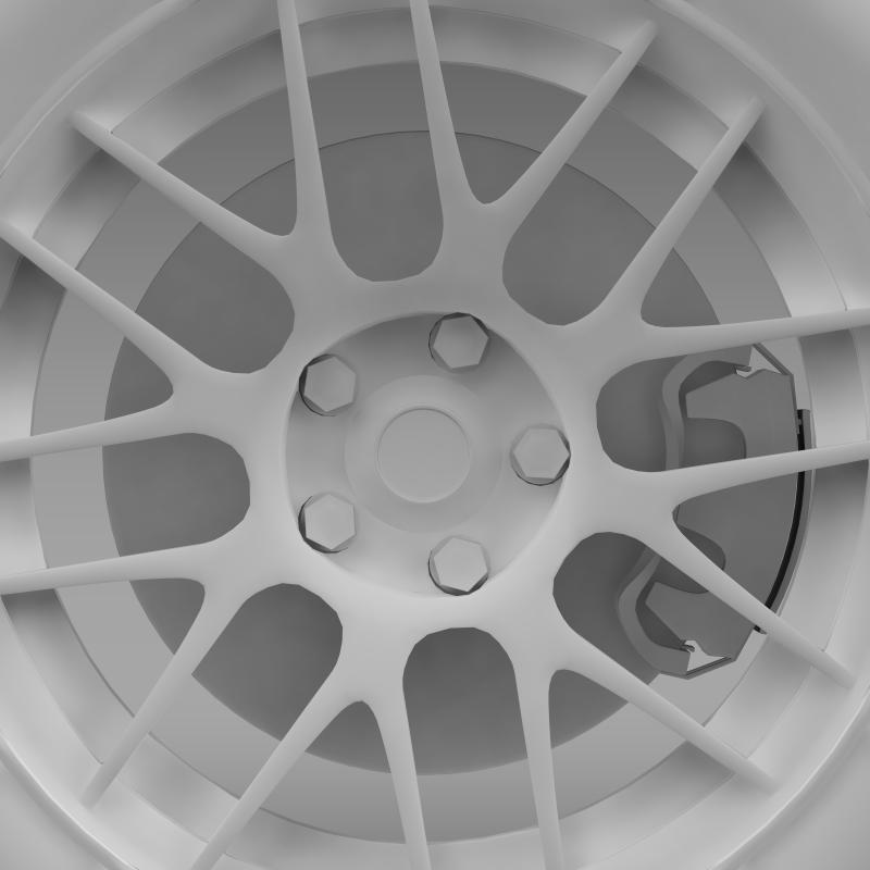 chevrolet camaro 2012 hennesey wheel 3d model 3ds max fbx c4d lwo ma mb hrc xsi obj 140597