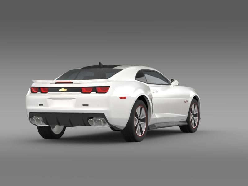 chevrolet camaro 2013 hot wheels 3d model 3ds max fbx c4d lwo ma mb hrc xsi obj 154381