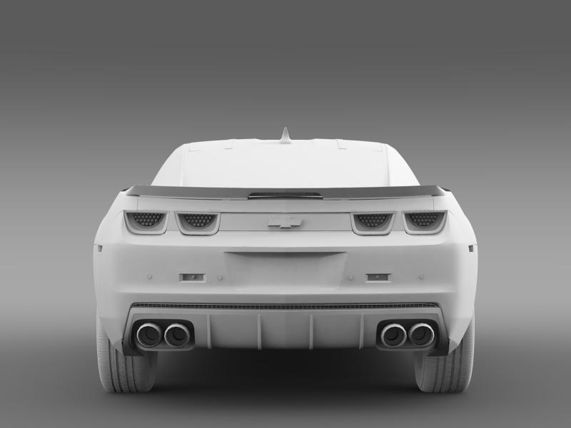 chevrolet camaro 2013 hot wheels 3d model 3ds max fbx c4d lwo ma mb hrc xsi obj 154387