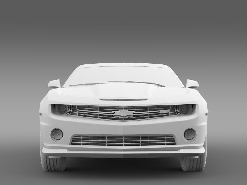 chevrolet camaro 2013 hot wheels 3d model 3ds max fbx c4d lwo ma mb hrc xsi obj 154388