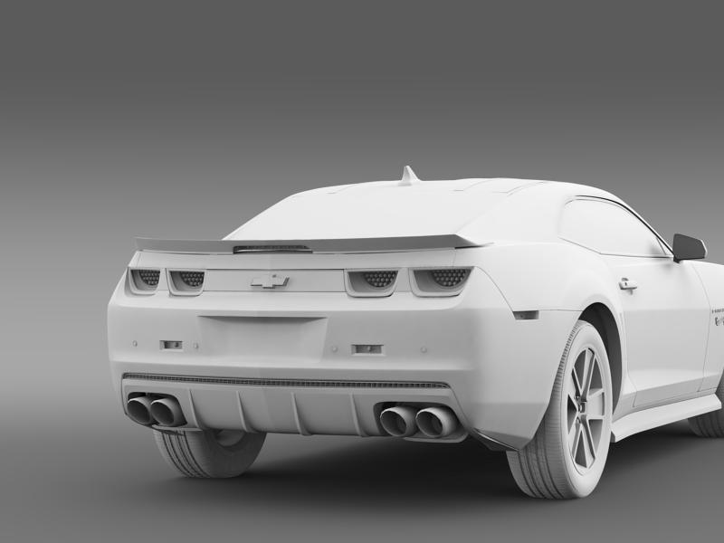 chevrolet camaro 2013 hot wheels 3d model 3ds max fbx c4d lwo ma mb hrc xsi obj 154389