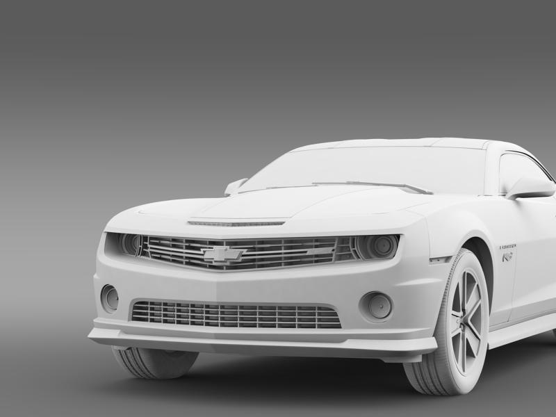 chevrolet camaro 2013 hot wheels 3d model 3ds max fbx c4d lwo ma mb hrc xsi obj 154390