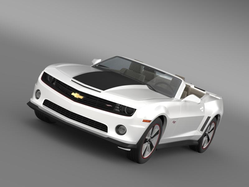 chevrolet camaro 2013 model 3d 3d model 4ds max fbx c154394d