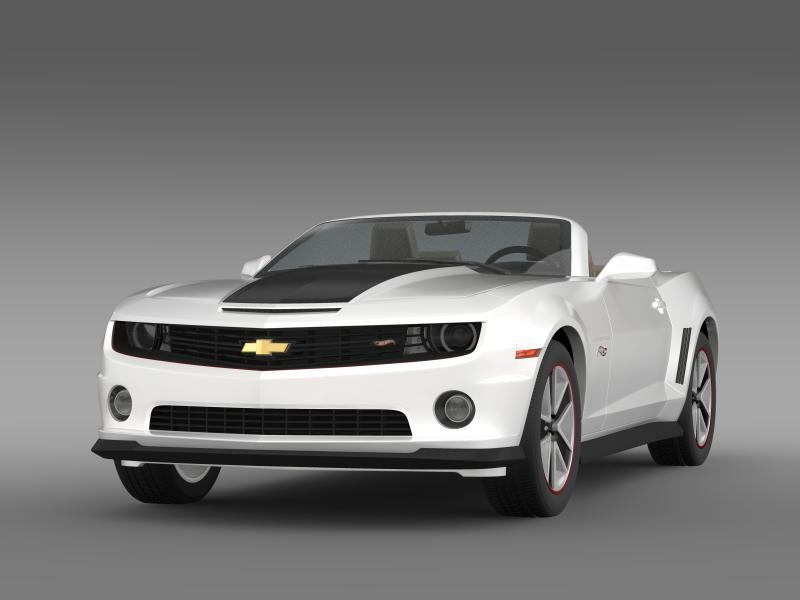 chevrolet camaro 2013 hotwheels se convertible 3d model 3ds max fbx c4d lwo ma mb hrc xsi obj 154395