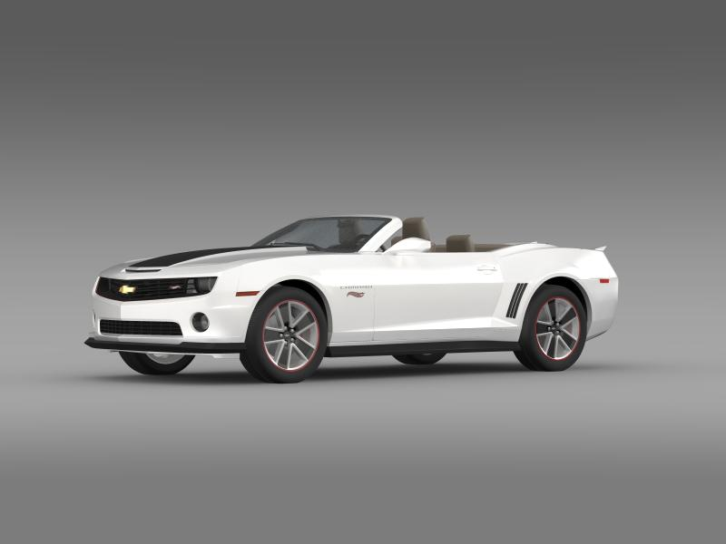 chevrolet camaro 2013 hotwheels se convertible 3d model 3ds max fbx c4d lwo ma mb hrc xsi obj 154397
